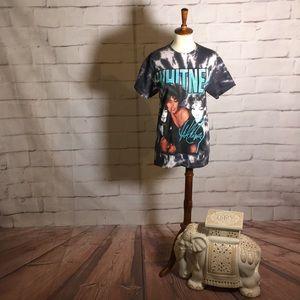 NEW Whitney Houston Tie Dye T Shirt